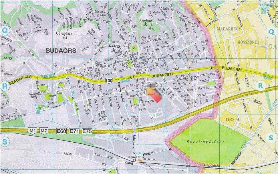 budaörs térkép Terkep budaörs térkép
